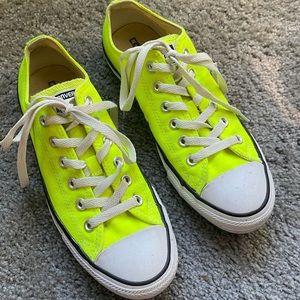 Converse All-Stars fluorescent yellow men's 7